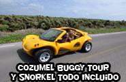 Cozumel Buggy Tour Y Snorkel Todo Incluido