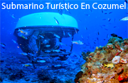 Submarino Turístico En Cozumel