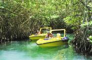 Paseo en Barco en Cancún con Lanchas Rápidas por la Laguna